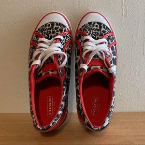 Coach Women's Barrett Canvas Shoes Sneakers